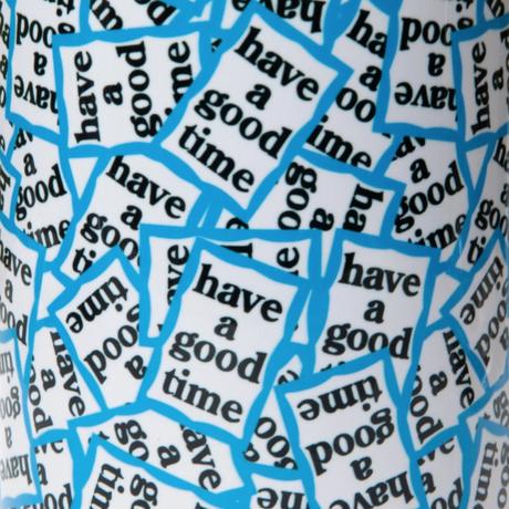【have a good time】BLUE FRAME ALLOVER MUG