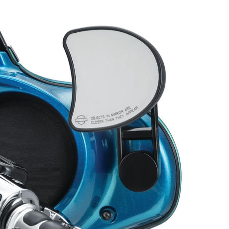 Adjustable Mirror Relocator, '06-'13 Street Glide, Black (6576)