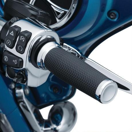 Thresher Grips for Electronic Throttle  Chrome 5942
