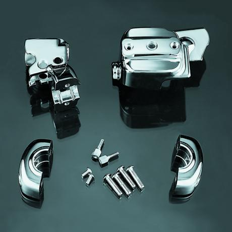 Brake & Clutch Control Dress-Up Kit for Dual Disc、 Chrome 9119
