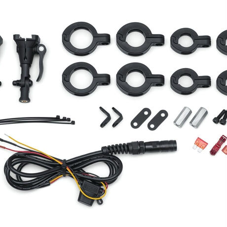 Motorcycle Mount Kit for WanderBar Portable Soundbar (マウントキット)2722
