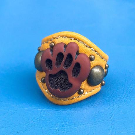 ★新作★ Leather Ring (フットスタンプ)