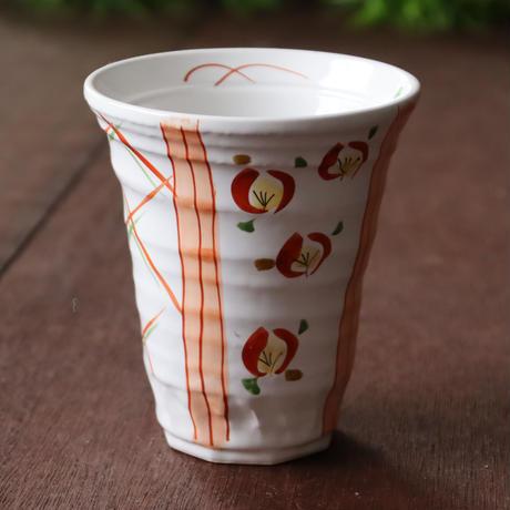 赤花筆ライン 持ちやすいトールカップ