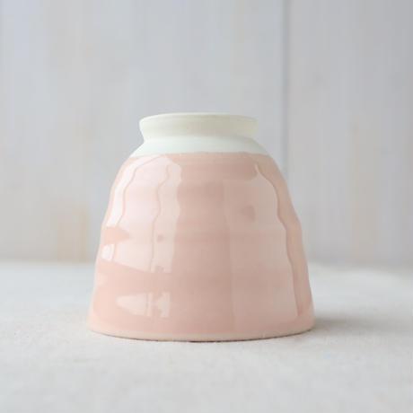 彩り 高台カップ ピンク