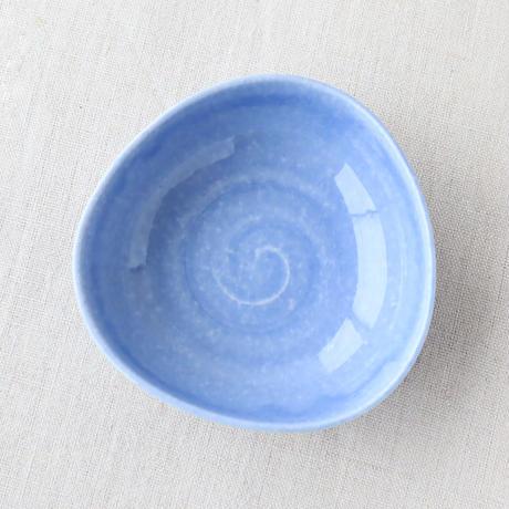 彩り 三角小付 ブルー