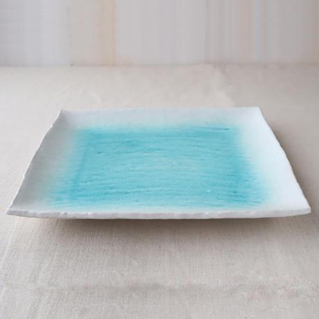 白流水 正角大皿