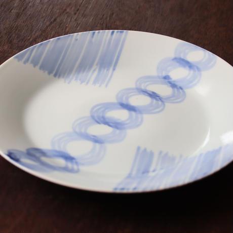 MINO藍 メイン大皿