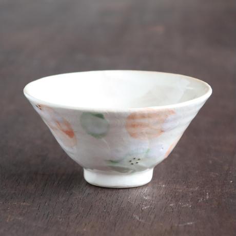 パステルガーデン ご飯茶碗 ホワイト