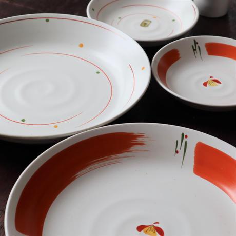 赤筆ライン 2人の夢暮らし食器セット