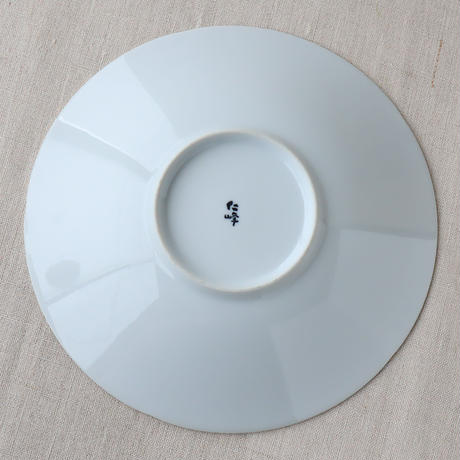 モノトーン 8.0深皿 ホワイト