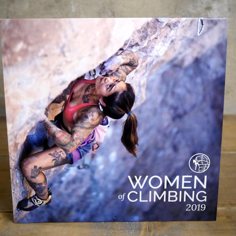 WOMEN of CLIMBING カレンダー 2019