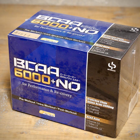 【BCAA6000mg】【L-シトルリン250mg】L-アルギニン250mg クエン酸525mg  7.5g×36包入り[BCAA6000+NO for Performance & Recovery]