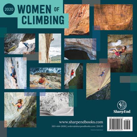 WOMEN of CLIMBING カレンダー 2020