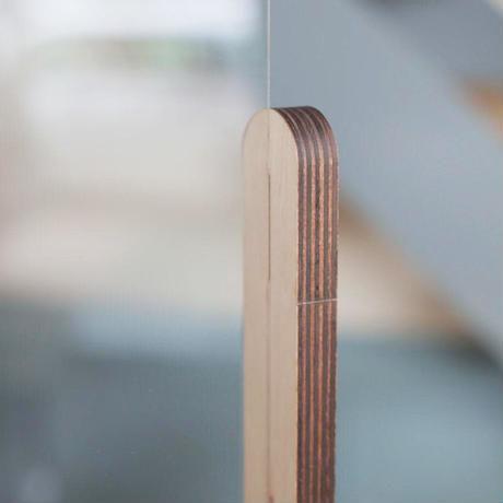 木製パーテーション TYPE-886 寸法:886×690×200mm