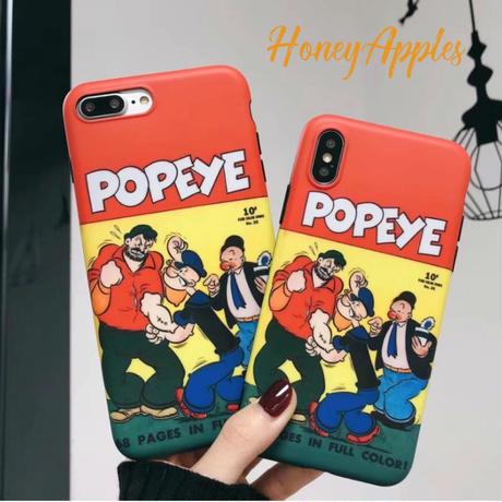 "POPEYE ""ポパイ"" iPhoneケース TPUケース [ 新機種対応 ]"