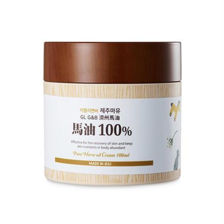 韓国化粧品 チェジュ島産100%馬油100ml