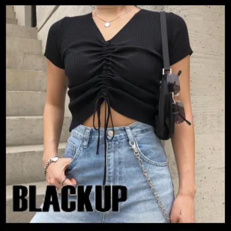 BLACKUP★カラーショーリングTシャッツ