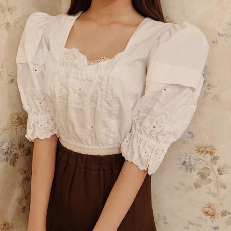 antique tyrol blouse
