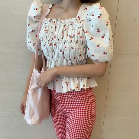 lovely cherry puff tops