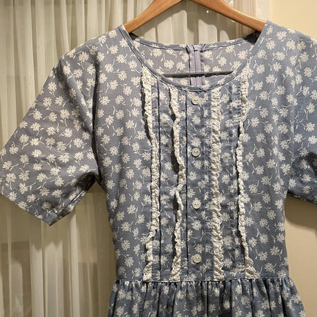 flower vintage one-pice