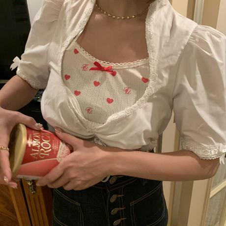 girly ribbon tylor blouse
