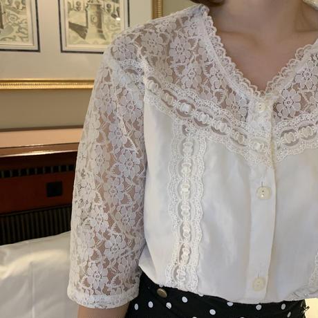 vintage lace blouse