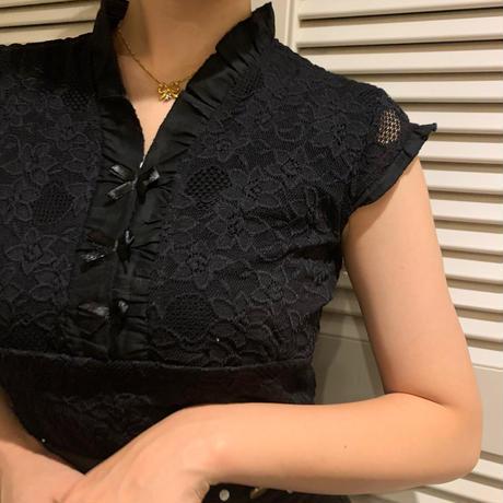 tiny ribbon lace tops