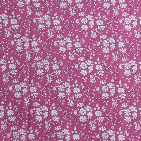 ◆輸入 リバティ LIBERTY タナローン Capel Raspberry カペル ラズベリー 約135×50cm