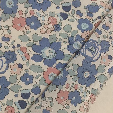 ◆輸入 リバティ LIBERTY タナローン Betsy Asagao ベッツィ アサガオ 約135×50cm