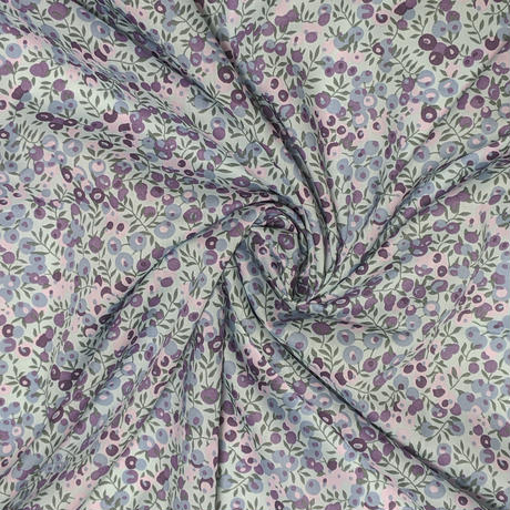 ◆輸入 リバティ LIBERTY タナローン Wiltshire blueberry ウィルトシャー ブルーベリー 約135×50cm
