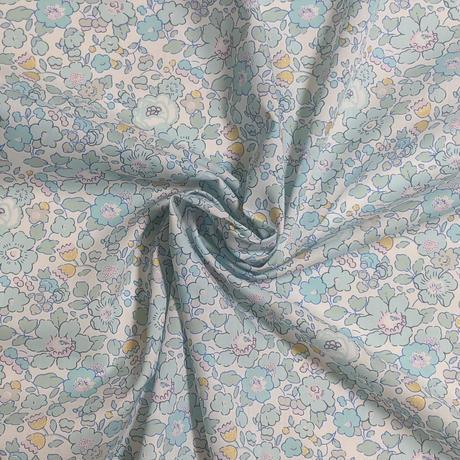 ◆輸入 リバティ LIBERTY タナローン Betsy Metallic Turquoise ★ ベッツィ メタリック ターコイズ 約135×50cm