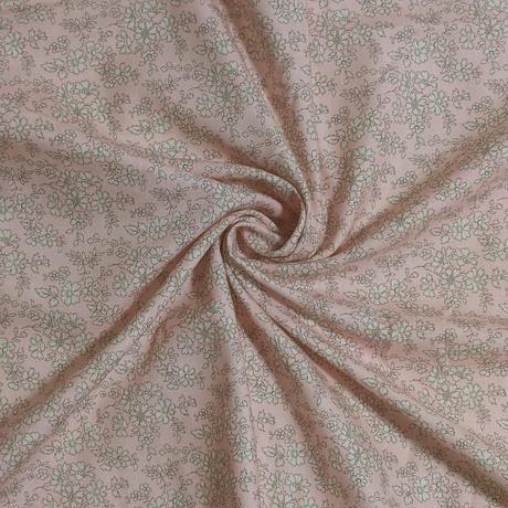 サイズ要確認●輸入 リバティ LIBERTY 二重ガーゼ ダブルコットン Capel Rose Nude カペル ローズヌード 約150×25cm