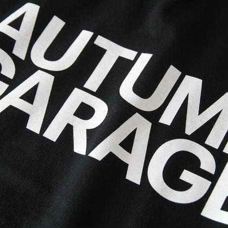 AUTUMN GARAGE STD LOGO TEE  / AG20001-WHT
