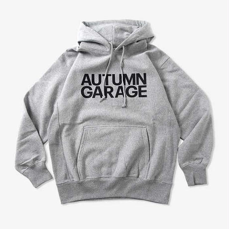 AUTUMN GARAGE STD LOGO HOODY  / AG21002-GRY