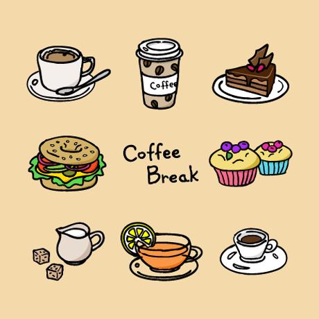 Coffee Break/コーヒーブレーク - (vector/eps)