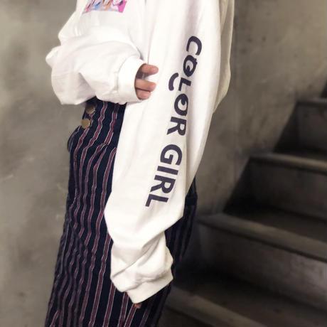 古塔つみ 『main 2』 / 【COLOR GIRL】LS T-shirts