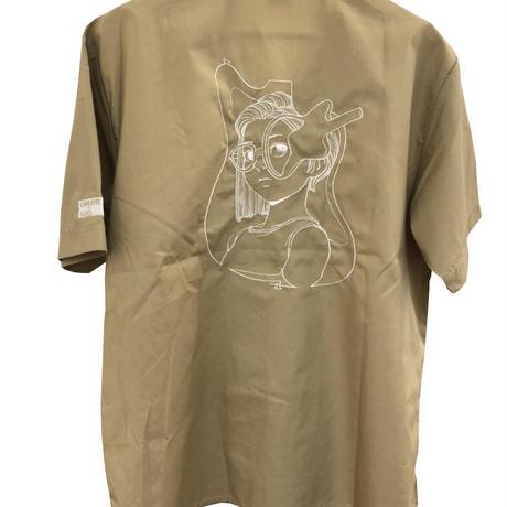 古塔つみ /【COLOR GIRL Vol.2】 刺繍 shirts