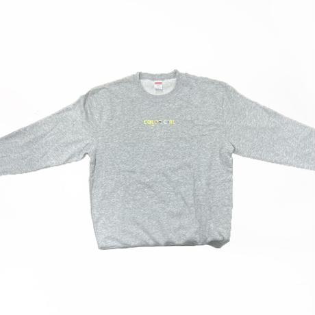 古塔つみ 『COLOR GIRL』grey yellow / 【COLOR GIRL】sweat