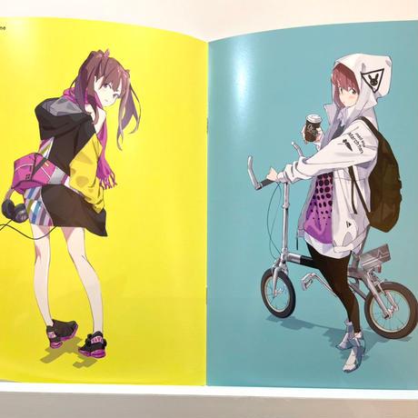 popman3580 『Charm』Girls Illustration Exhibition 2020(オリジナル楽曲付き)/ 【Charm】