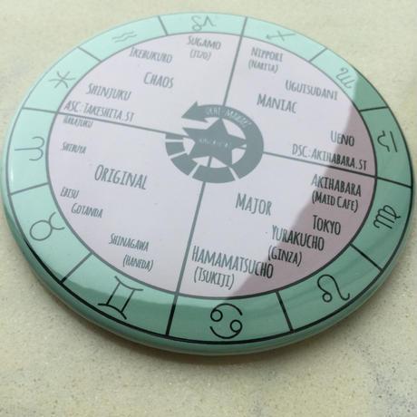 占星術で覚える山手線ミラー2017(直径76mm)