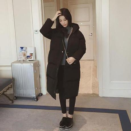 中綿 ロングコート ♪ コート レディース