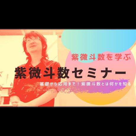 紫微斗数 実践鑑定メソッド講座(記録動画)