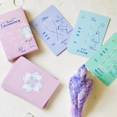 【オンライン個人レッスン】hosi7 ジオマンシー カード講座