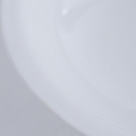 河合竜彦 白釉リムボウルL