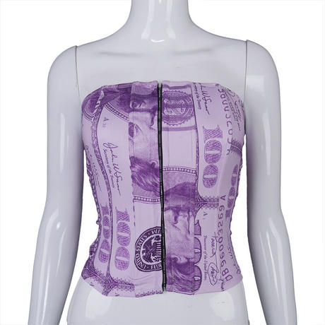 PURPLE★$$$  corset  top-183