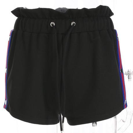 BLACK★open short  pants  bot-53