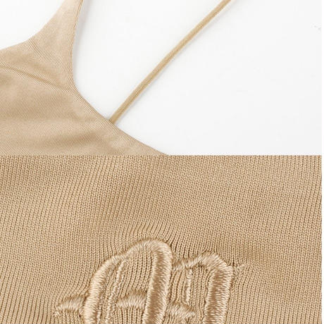 IVORY♡cropped camisole  top-115