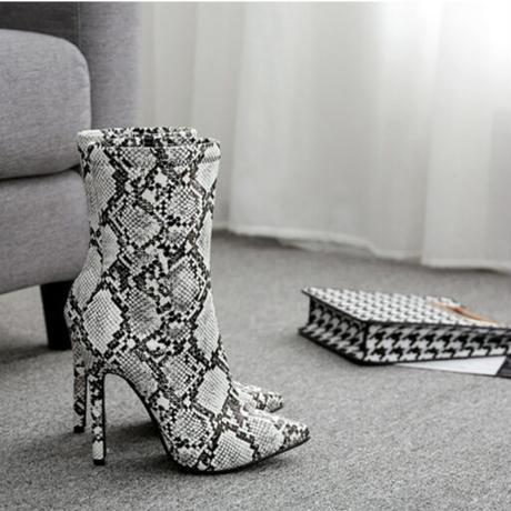 GRAY★short   boots  sho-104