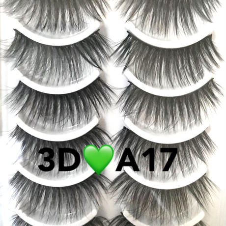 10set★3D mink false eyelashes★A17  cos-54