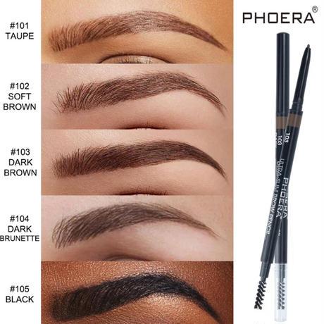 PHOERA★ultra slim eye brow pencil  cos-33